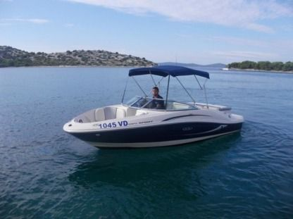 Charter Motorboat Sea Ray 185 Sport Tribunj