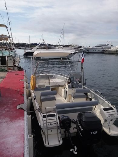 ULTRAMAR OPEN 570 in Juan les Pins, Antibes for hire