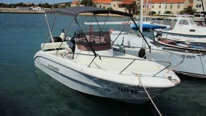 Charter Motorboat Fisher 20 Deck Sveti Filip i Jakov