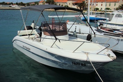 Rental Motorboat FISHER 20 DECK Sveti Filip i Jakov