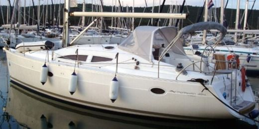 Sailboat Elan 384 Impression