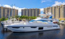 Motor yacht Azimut 72 for hire