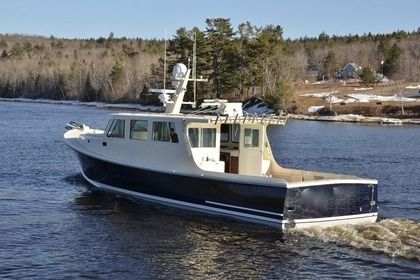 Charter Motorboat Carman 46 Chesapeake