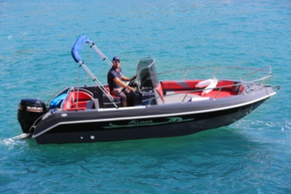 Rental Motorboat Coque Rigide 6m 100CV 8 pers Cassis