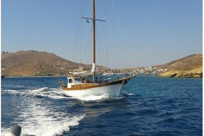 Rental Sailboat Custom Traditional Patmos