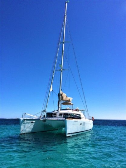 Location Catamaran Lagoon 44 Ibiza