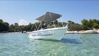 Rental Motorboat Thomas Boats Tempest 450 Chalkidiki