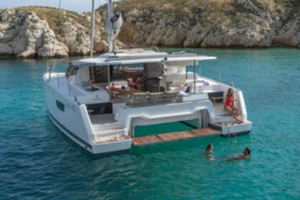 Hire Catamaran Fountaine Pajot Astrea 42 with watermaker Marsh Harbour