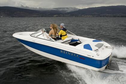 Hire Motorboat Reinell 185 South Lake Tahoe