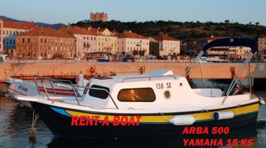 Charter motorboat in Senj peer-to-peer