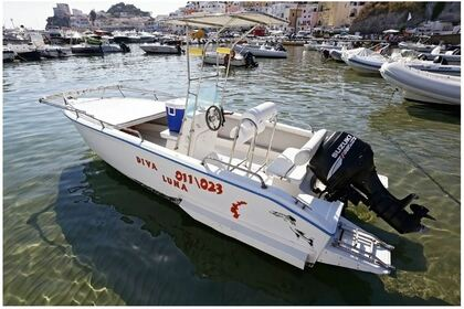 Rental Motorboat Barracuda 5m Ponza