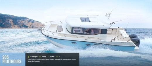 QUICKSILVER 905 Pilothouse in Évian-les-Bains for hire
