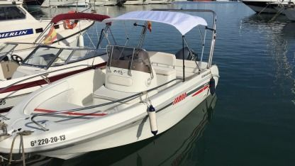 Rental Motorboat Selva D 5.6 Altea