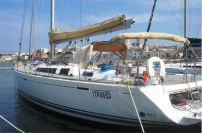 "Charter Sailboat Dufour Grand Large 525 ""rainbow"" Marsala"