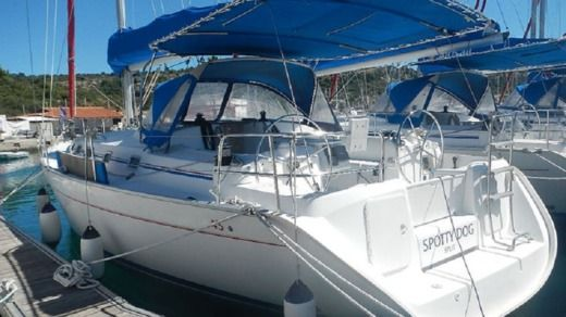 Beneteau Cyclades 43.4 in Split peer-to-peer