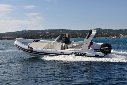Rental RIB ALSON Flash 750 Sorrento