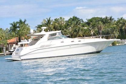 Miete Motorboot Searay Sundancer 45' Miami
