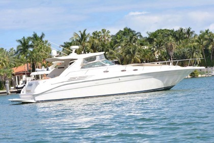 Alquiler Lancha SeaRay Sundancer 45' Miami