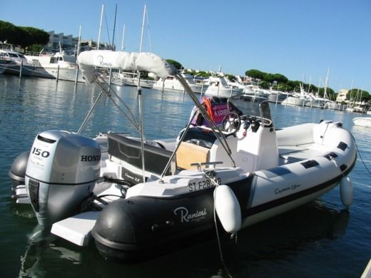 RIB Ranieri Cayman 21 Sport for hire
