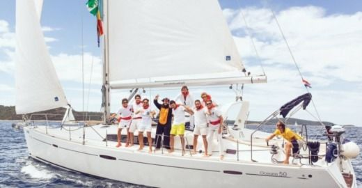 Sailboat Beneteau 50 Family Lara for hire
