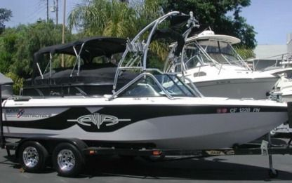 Charter Motorboat Correct Craft Ski Air Nautique Discovery Bay