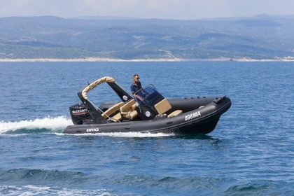 Rental Motorboat Brig eagle 650 Brela