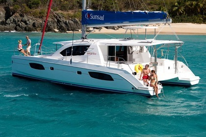 Charter Catamaran Sunsail 444 Leeward Islands