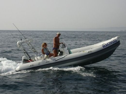 RIB ARIMAR Pionner 540 for hire