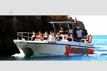 Rental Motorboat Catamaran Clasique Albufeira