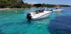 Motorboat Quicksilver Activ 555 Open 4 Temps for hire
