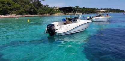Rental Motorboat Quicksilver Activ 555 Open 4 Temps Mandelieu-La Napoule