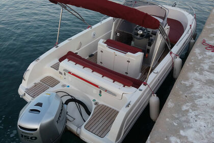 Rental Motorboat Atlantic marine 670 open Tribunj