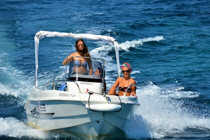 Rental Motorboat Trimarchi 53S Paxi
