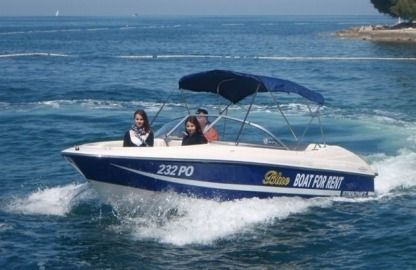 Rental Motorboat Starcraft Vectra 195 Funtana