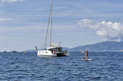 Location Catamaran Nautitech Open 40 Ajaccio