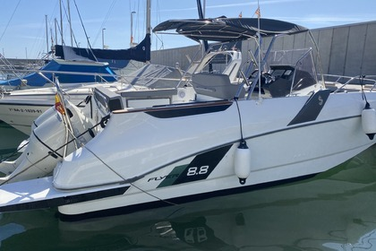 Rental Motorboat Beneteau Flyer 8.8 Blanes