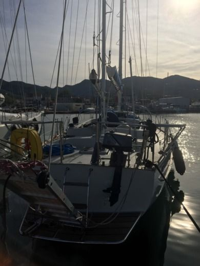 Irwin 42 Ketch in Ajaccio for hire