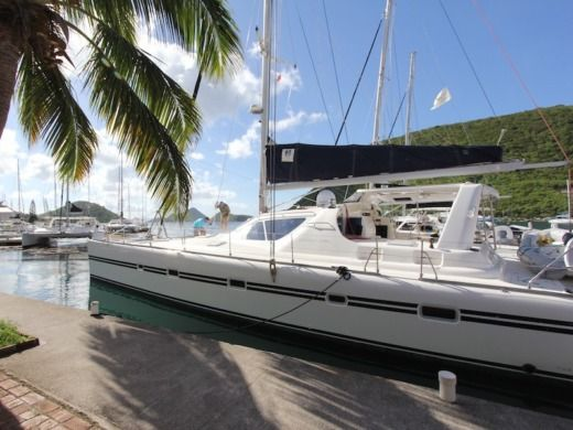 Charter Catamaran Voyage Yachts 580 British Virgin Islands