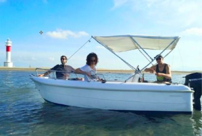 Rental Motorboat Estable 400 Tarragona