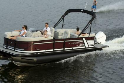 Rental Motorboat Pontoon 24 Austin