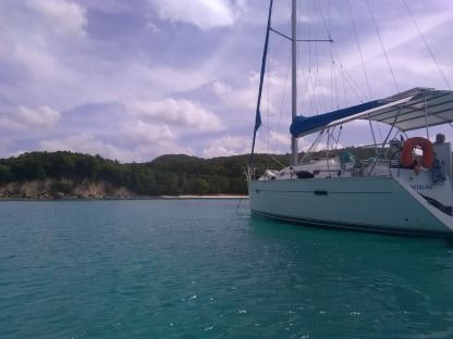Rental Sailboat Beneteau Oceanis 343 Pointe-a-Pitre