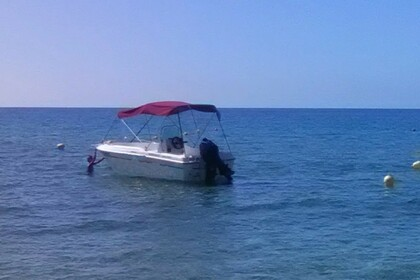 Rental Motorboat Karel 450 Corfu