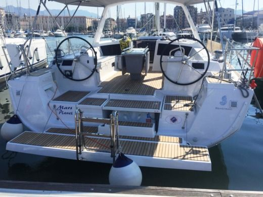 Beneteau Oceanis 48 in Palermo for hire