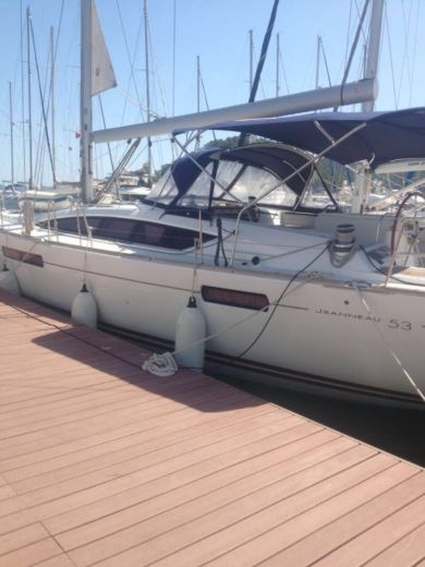 Jeanneau 53 in Mugla for rental