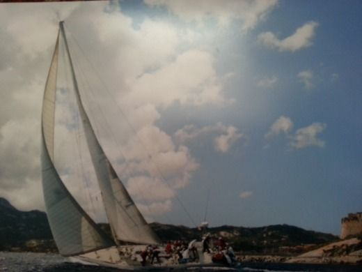 Charter sailboat in Athens