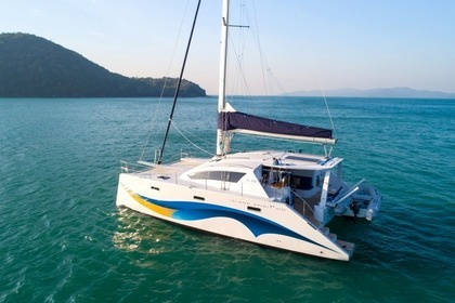 Location Catamaran Island Spirit 410 Phuket