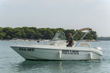 Charter Motorboat REFUL Boats HM 22 Murter