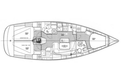 Rental Sailboat BAVARIA 39 CRUISER Skiathos