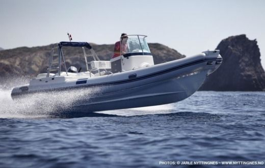 RIB Northstar 225Wrt for hire
