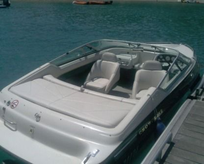Rental Motorboat Crowline 180 Chorges